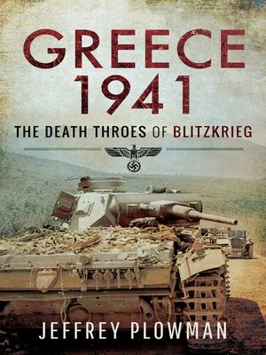 cover image of Greece 1941