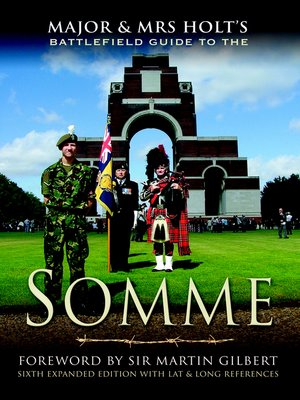 cover image of Major & Mrs. Holt's Battlefield Guide to the Somme