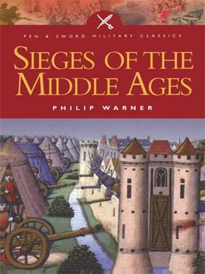 cover image of Sieges of the Middle Ages