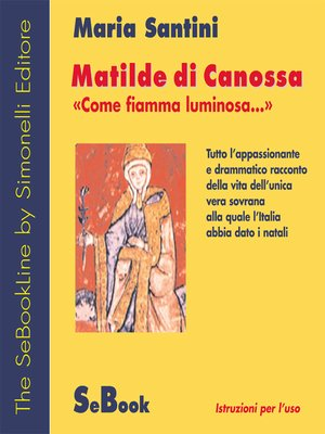 cover image of Matilde di Canossa