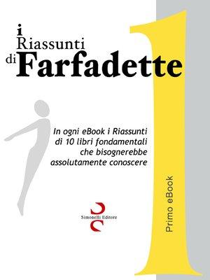 cover image of i Riassunti di Farfadette 01