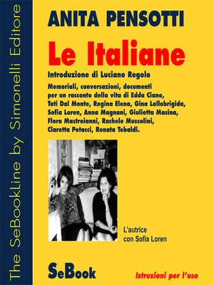cover image of Le Italiane
