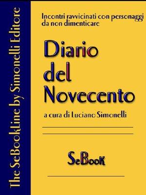 cover image of Riccardo Bacchelli – Diario del Novecento