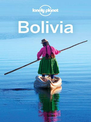 cover image of Lonely Planet Bolivia