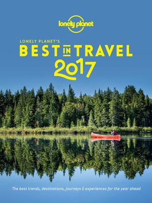 cover image of Lonely Planet's Best In Travel 2017