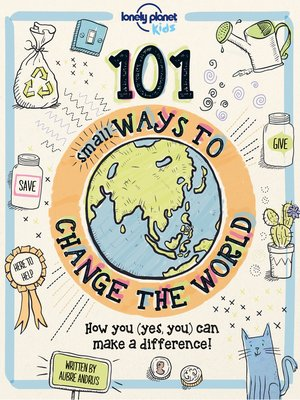 cover image of 101 Small Ways to Change the World