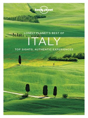 cover image of Lonely Planet Best of Italy