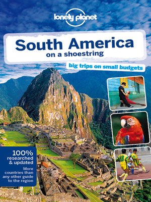 cover image of South America on a Shoestring