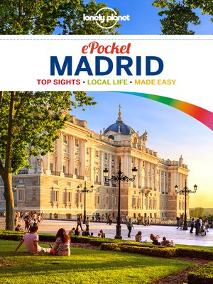 cover image of Lonely Planet Pocket Madrid