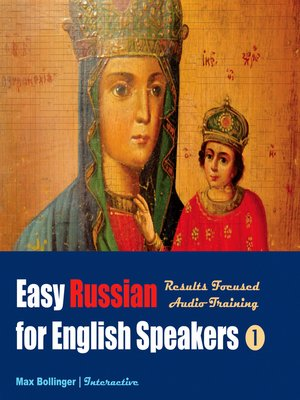 cover image of Easy Russian for English Speakers, Volume 1