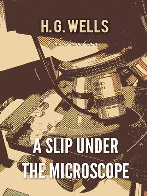 cover image of A Slip Under the Microscope