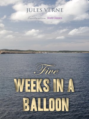 cover image of Five Weeks in a Balloon