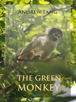 cover image of The Green Monkey and Other Fairy Tales