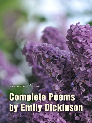 cover image of Complete Poems by Emily Dickinson