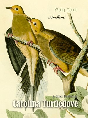 cover image of Carolina Turtledove and Other Birdsongs