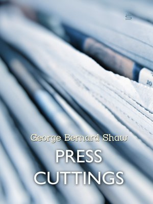 cover image of Press Cuttings