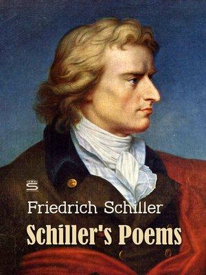 cover image of Schiller's Poems, Volume 1