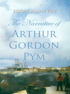 cover image of The Narrative of Arthur Gordon Pym
