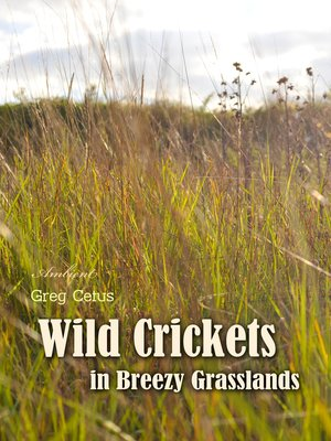 cover image of Wild Crickets in Breezy Grasslands