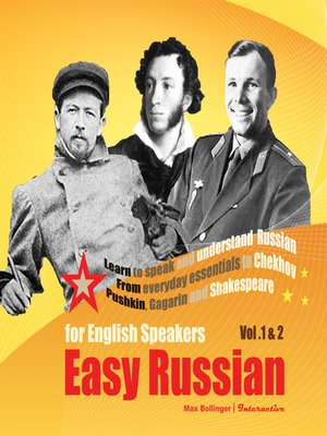 cover image of Easy Russian for English Speakers, Volume 1 & 2