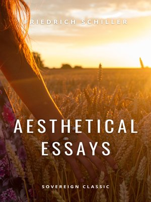 cover image of Aesthetical Essays