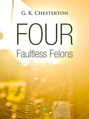 cover image of Four Faultless Felons