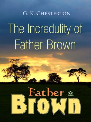 cover image of The Incredulity of Father Brown