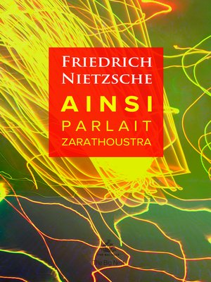 cover image of Ainsi Parlait Zarathoustra