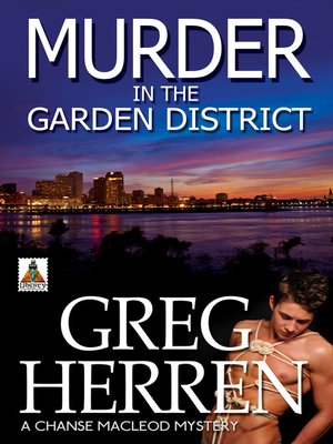 cover image of Murder in the Garden District