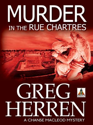 cover image of Murder in the Rue Chartres