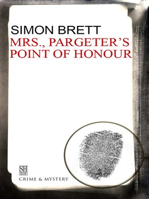 cover image of Mrs. Pargeter's Point of Honour