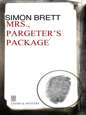 cover image of Mrs. Pargeter's Package