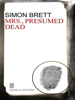 cover image of Mrs., Presumed Dead