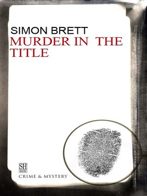 cover image of Murder in the Title