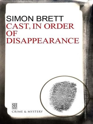 cover image of Cast in Order of Disappearance