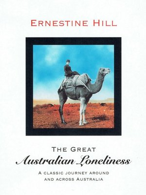 cover image of The Great Australian Loneliness