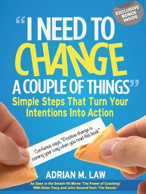 "cover image of ""I Need to Change a Couple of Things"""