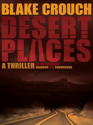 cover image of Desert Places