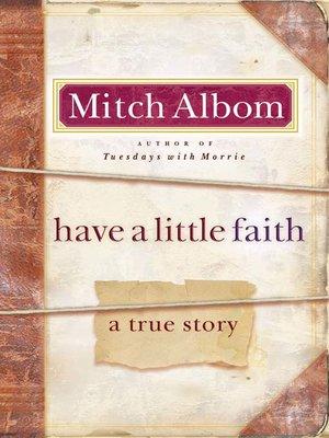 cover image of Have a Little Faith