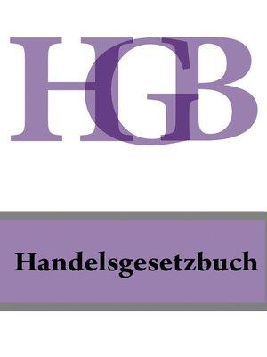 cover image of Handelsgesetzbuch