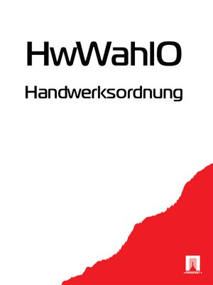 cover image of Handwerksordnung