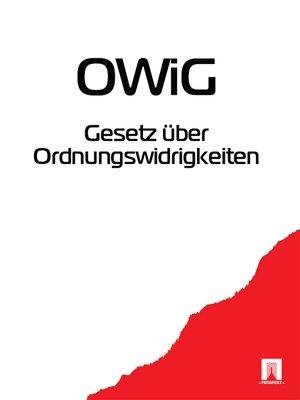 cover image of Gesetz uber Ordnungswidrigkeiten OWiG