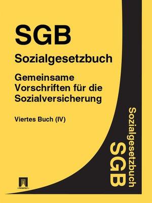 cover image of Gemeinsame Vorschriften für die Sozialversicherung