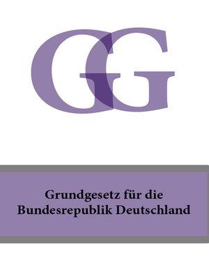 cover image of Grundgesetz fur die Bundesrepublik Deutschland
