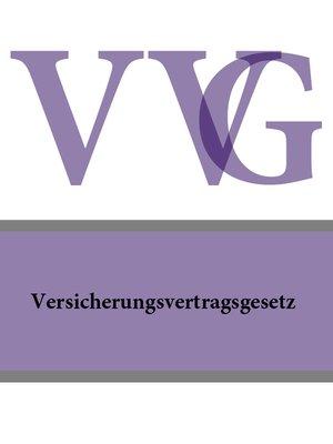 cover image of Versicherungsvertragsgesetz