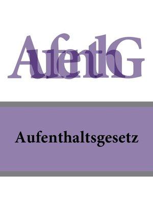 cover image of Aufenthaltsgesetz