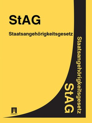cover image of Staatsangehörigkeitsgesetz