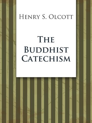 cover image of The Buddhist Catechism
