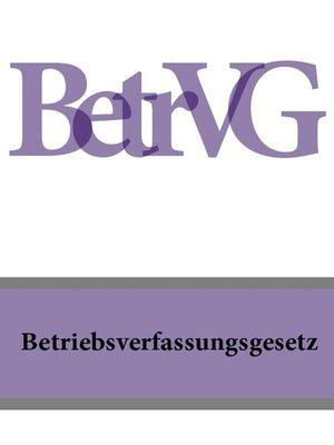 cover image of Betriebsverfassungsgesetz