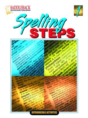 cover image of Spelling Steps 1